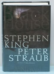 Black House- Signed By Author Peter Straub Item Us1591