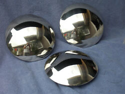 Chrome Moon Hub Caps For Early Chev Cars And Trucks
