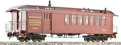 Ams Accucraft Trains - Dandrgw Passenger Cars Combine 120.3 Scale