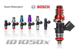 Injector Dynamics Id1050x 1065cc With Pnp Adapter Audi Vw Vr6 12v 14mm Tops