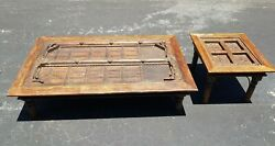 Very Old 15th -17th Century Antique Wooden Tables. Very Heavy.