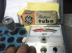 Ge General Electric 6a57 Electronic Antique Radio Tube Tested