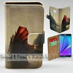 For Samsung Galaxy Note Series - Traditional Boat Print Mobile Phone Case Cover