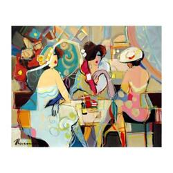 Isaac Maimon Remarkable Moments Signed Original Painting On Canvas Coa