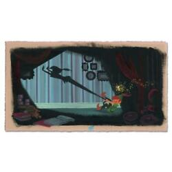 Disney Fine Art Lorelay Bove Peter's Shadow Signed Limited Edition Art