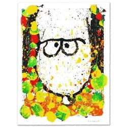 Everhart Squeeze The Day Monday Signed Limited Edition Peanuts Lithograph