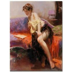 Pino After Midnight Ap Artist Embellished Limited Edition On Canvas Coa