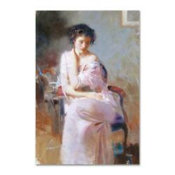 Pino Sublime Beauty Ap Artist Embellished Limited Edition On Canvas Coa