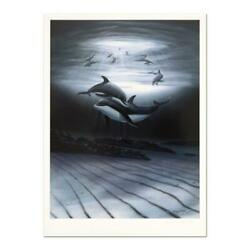 Wyland Dolphin Affection Signed Limited Edition Art Coa
