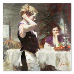 Pino Wistful Thinking Ap Artist Embellished Limited Edition On Canvas Coa