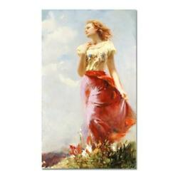 Pino Wind Swept Ap Artist Embellished Limited Edition On Canvas Coa