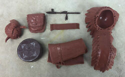 Marx Toys Chief Cherokee Action Figure Accessories Johnny West