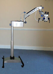 3 Step Magnifications - Ent Surgery- Operating Microscope - Silver Color
