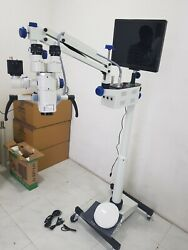 3 Step Ent Surgical Microscope With Accessories And Led Monitor - Focus Manual