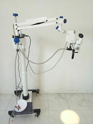 Surgical Ent Microscope For Hospitals - Floor Stand Model - White Color