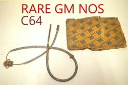 Gm Chevy C64 Emergency Parking Brake Cable Antique Vintage Classic Domestic Nors