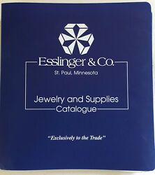 1998 Esslinger And Co St Paul Mn Wholesale Jewelry, Watches, Supply Catalog