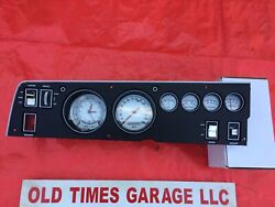 1970 Dodge Charger Road Runner GTX Cluster Mopar Rallye Instrument Gauge White