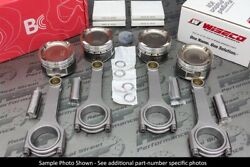 Wiseco Pistons Brian Crower H Beam Rods Civic Si B16 B16a B16a2 84.5mm 9.441