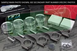 Cp X-style Pistons Brian Crower H Beam Rods Civic Si B16 B16a B16a2 85mm 12.01