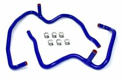 HPS Blue Heater Hose Kit Coolant 08-10 Grand Cherokee SRT8 w/o rear climate