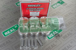 Manley 86mm 9.01 94mm Stroker Forged Pistons For Toyota Supra 2jzgte 629100c-6