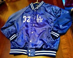 Magic Johnson 32 And La Dodgers Jacket Special Limited Edition