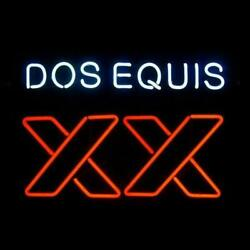 New Dos Equis Xx Imported Beer Bar Pub Light Lamp Neon Sign 24x20