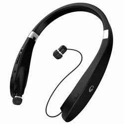 [Newest Design] Wireless Bluetooth 4.1 Headset Retractable and Foldable Style