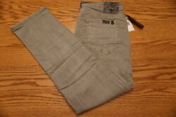 NWT MEN'S BUFFALO DAVID BITTON JEANS Multiple Sizes Evan-X Slim Straight Stretch