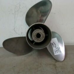 Used Omc Johnson / Evinrude Viper 14 3/4 X 19 Lh Stainless Propeller 176630