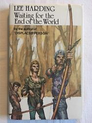Waiting For The End Of The World By Lee Harding 1983 1st 1st Hb In Dj Signed