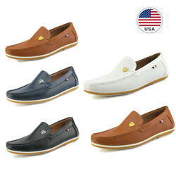 Bruno Marc Men Flat Leather Slip On Casual Driving Loafers Moccasins Dress Shoes $27.54