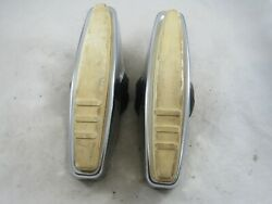 Vintage Pair Of 1950and039s 1960and039s 1970and039s Car Truck Universal Bumber Guards