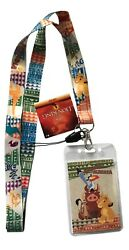 The Lion King Lanyard ID Badge Holder Double Sided Design