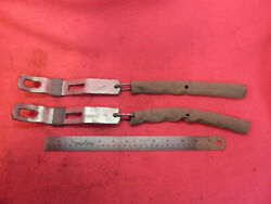 Nos 1960-1966 Chevy Fleetside Pickup C10 C20 Tailgate Chains W/ Covers