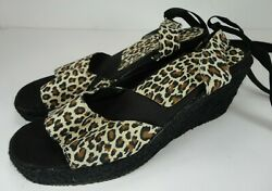 Pressure Point Wrap Around Ankle Tie Womans  Shoes size 9 M