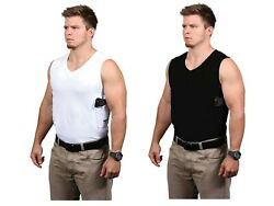 Packin Tee Gun Shirt Concealed Carry V Neck T-Shirt Holster Included
