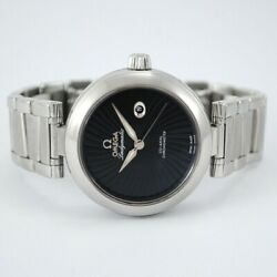 Omega De Ville Ladymatic Co-axial 425.30.34.20.01.001 Stainless Steel 34 Mm.