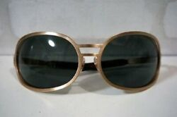 CHRISTIAN ROTH sunglasses Gold Big X-JAPAN HIDE favorite model Lenny Rare NOS