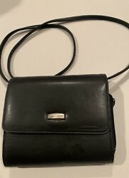 Hush Puppies Crossbody Organizer Handbag Black $13.50