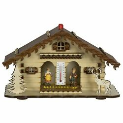 German Black Forest Weather House Tu 863 New