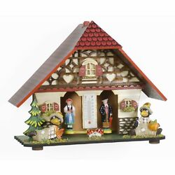 German Black Forest Weather House Tu 859 New