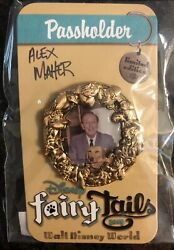 Disney Pin From Fairytails Pin Trading Event. Pass Holder Exclusive Pin. Signed