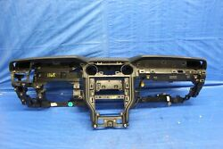 2018 19 FORD MUSTANG GT 5.0 COYOTE V8 OEM BLACK INTERIOR DASHBOARD COVER #1168