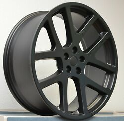 Fits 22 Viper Satin Black All Season Tire Wheel Package For Challenger Charger