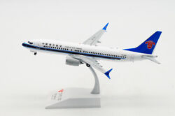 1200 Jc Wings China Southern Boeing 737max Passenger Airplane Diecast Model