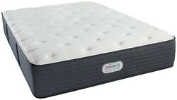 New King Simmons Beautyrest Platinum Spring Grove Luxury Firm Mattress