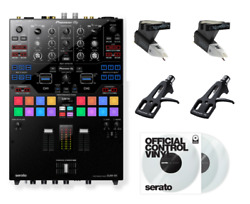 Pioneer DJ DJM-S9 Ultimate Accessory Bundle With Control Vinyl, Cartridges, and