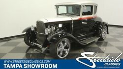 1930 Ford Model A 5 Window Coupe ford steel body 1930 street rod 5 window coupe 350 chevy